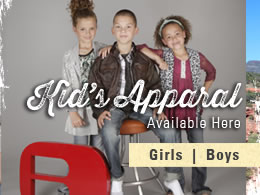 Kid's Apparal Available Here
