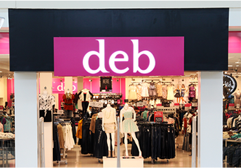 Deb clothing store locations