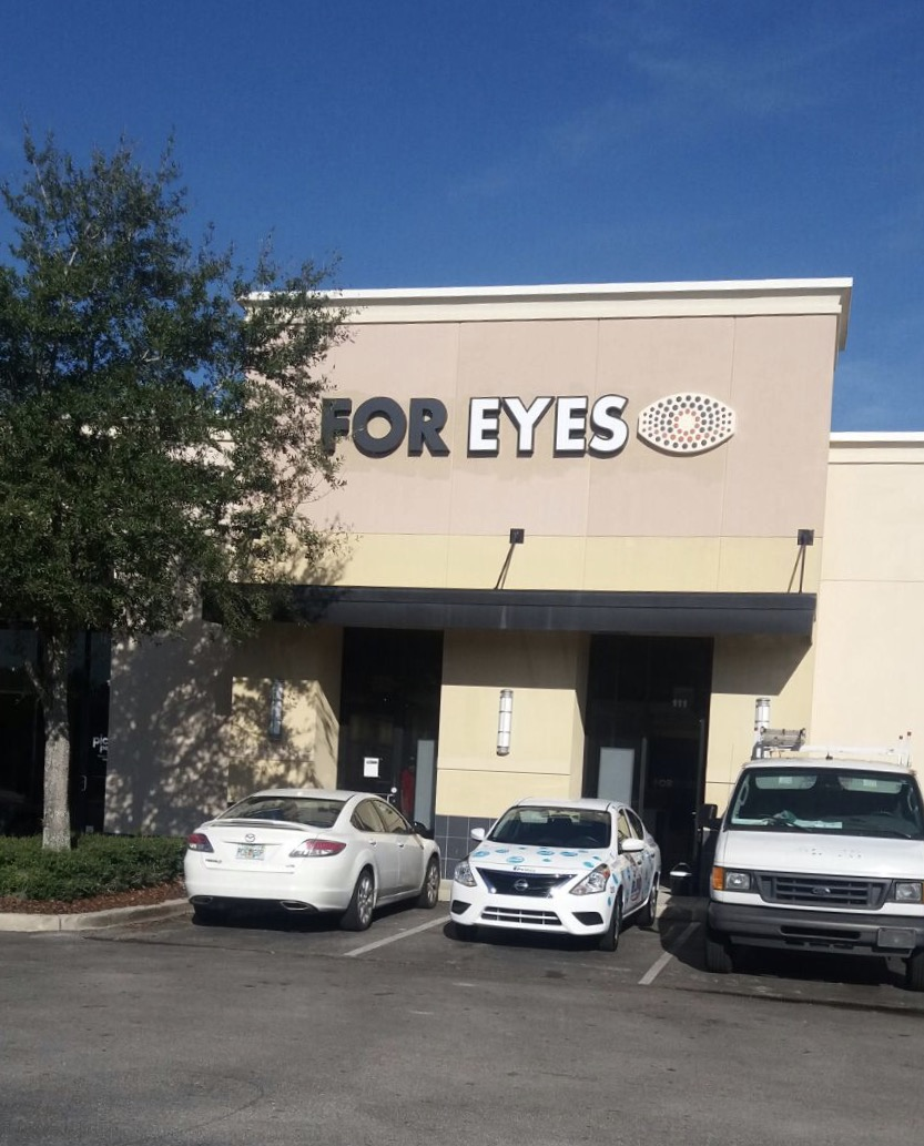 For Eyes Optical Store front in Orlando, FL 32839