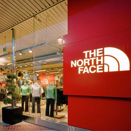 The north face outlet store