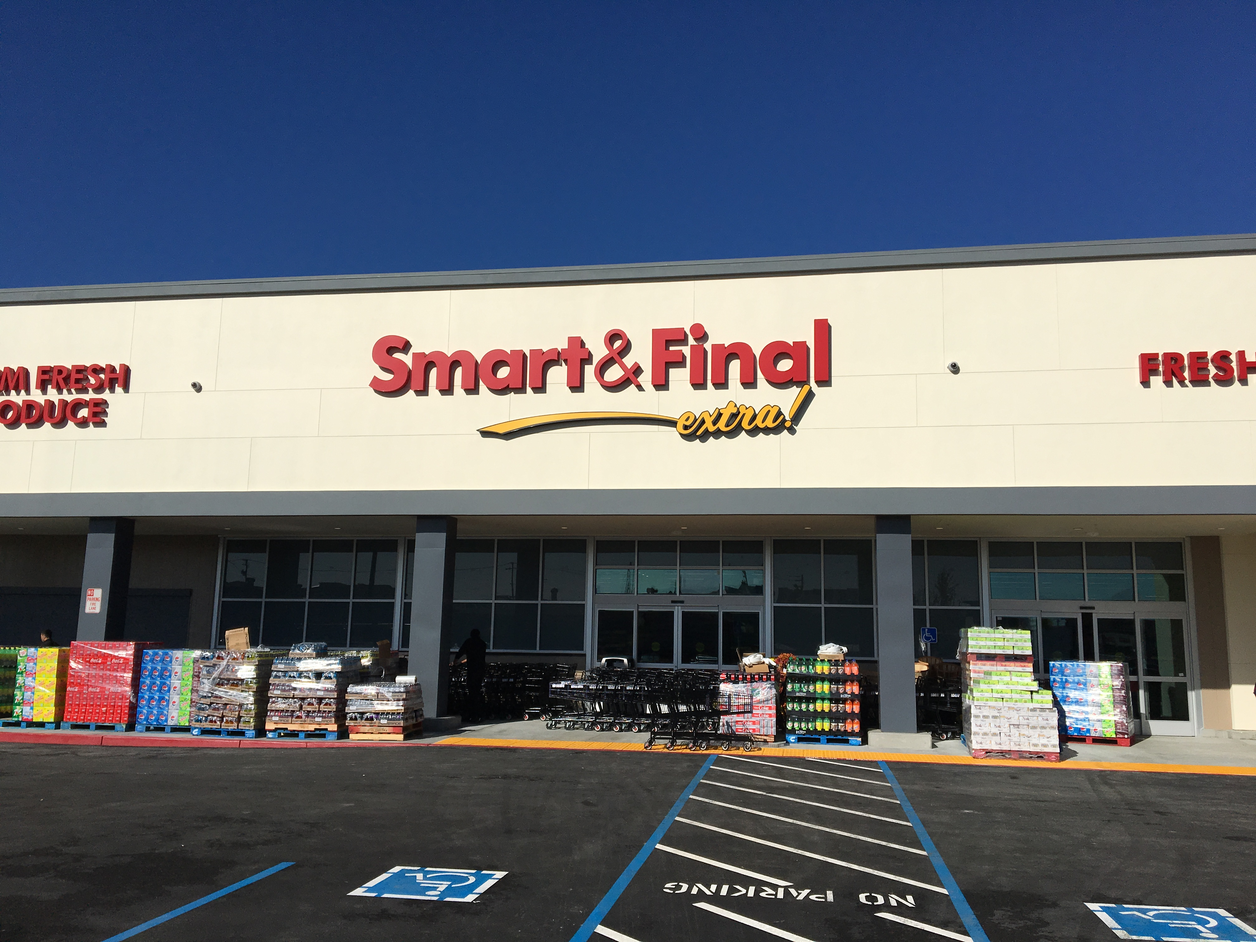 Smart & Final Store Front - Grocery Store in San Jose, CA