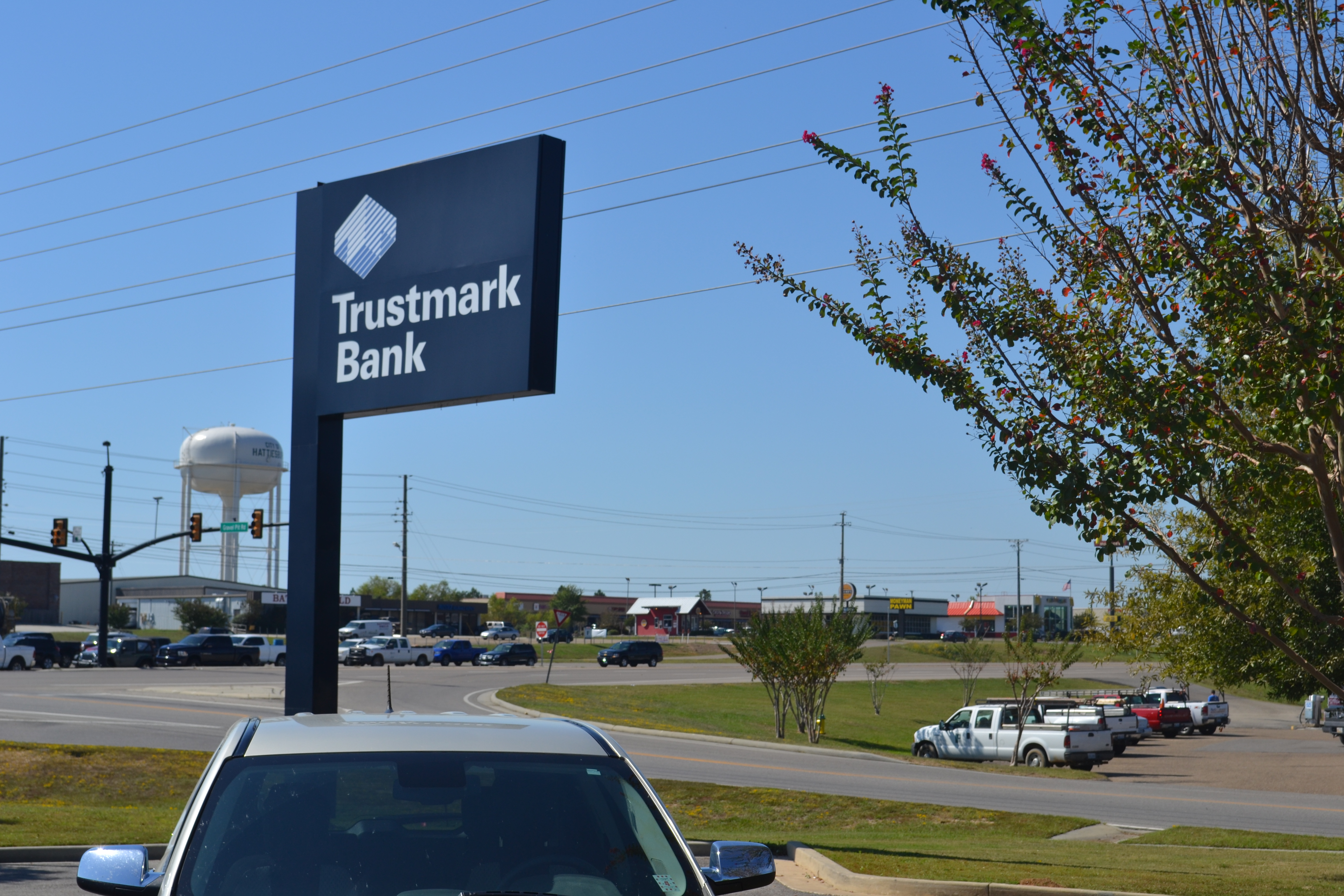100159 - Trustmark Bank and ATM Location in Hattiesburg, MS
