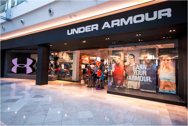Charmant Store Details For Under Armour In Mall At Millenia   Orlando, FL.