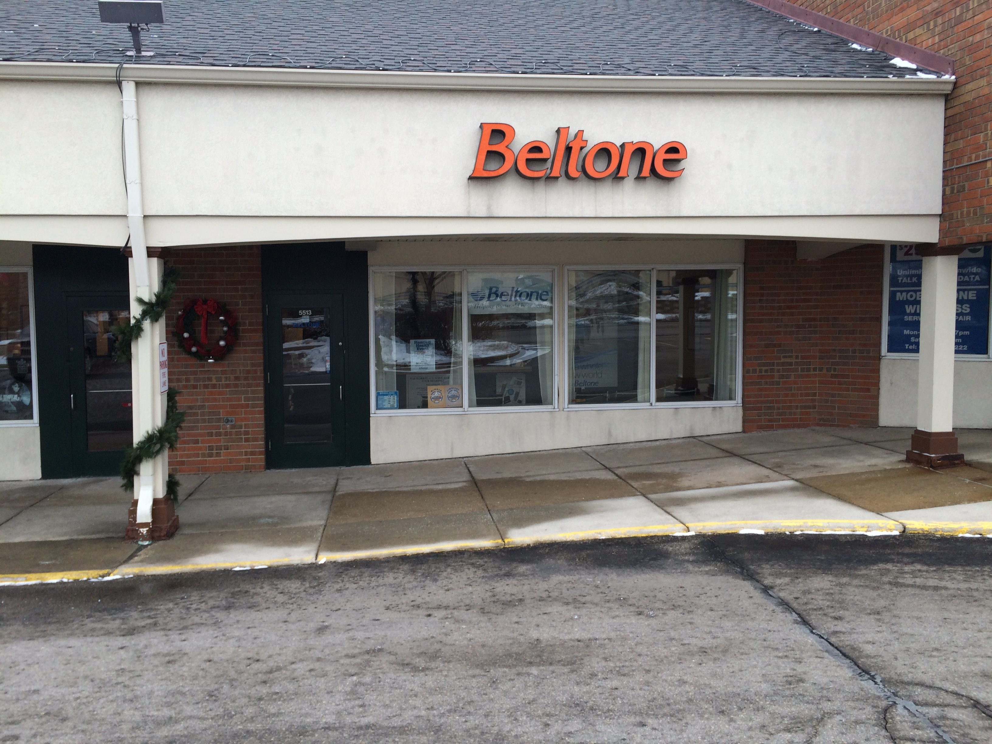 Beltone Hearing Madison storefront