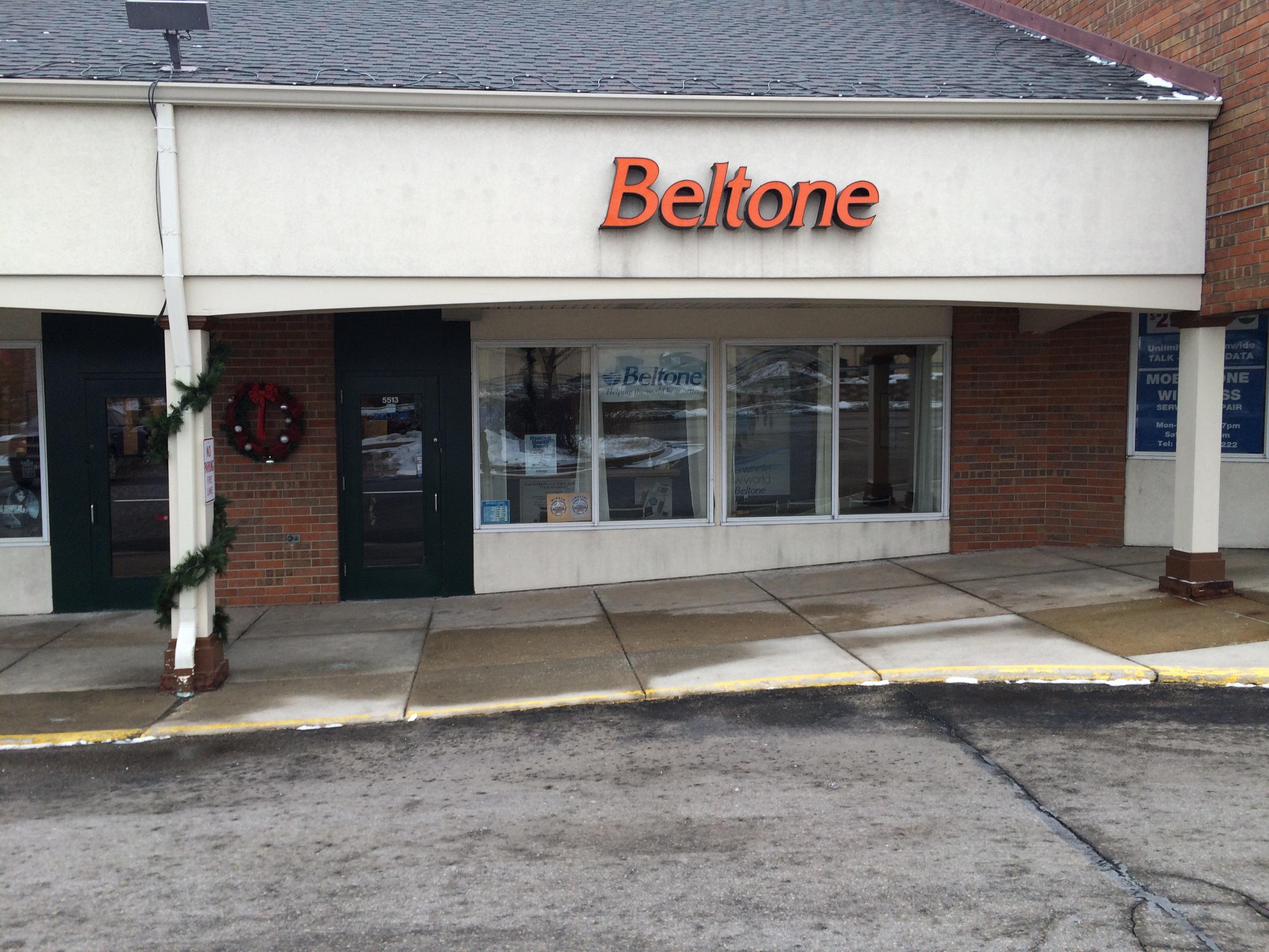 Beltone Hearing Madison storefront