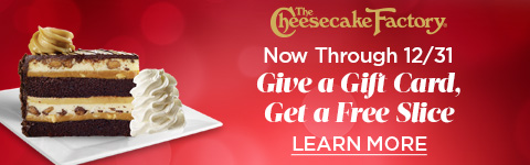 Give a Gift Card, Get a Free Slice Banner