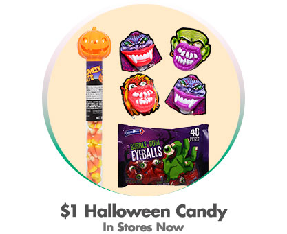 1 Dollar Halloween Candy