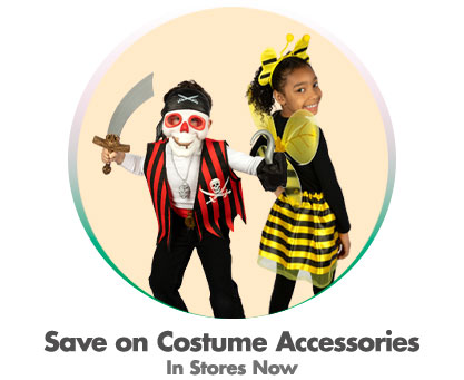 Save on Costume Accessories