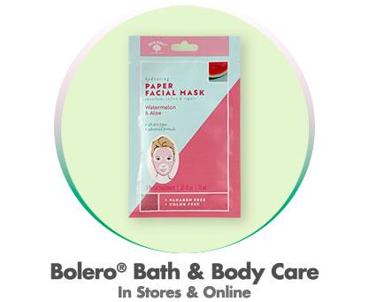 Bolero® Bath & Body Care - In Stores & Online