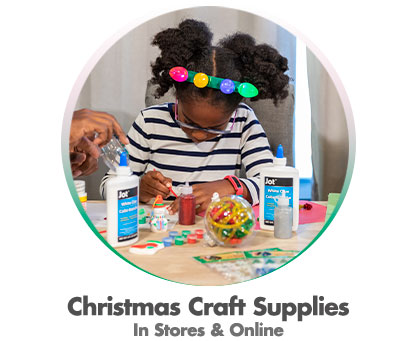 Christmas Craft Supplies - In Store & Online