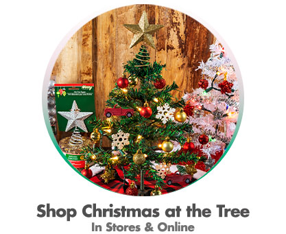 Shop Christmas at the Tree - In Stores & Online