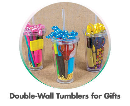 Double-Wall Tumblers For Gifts
