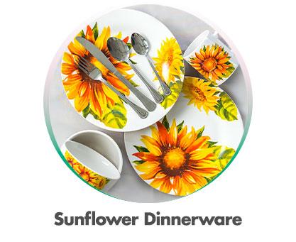 Sunflower Dinnerware
