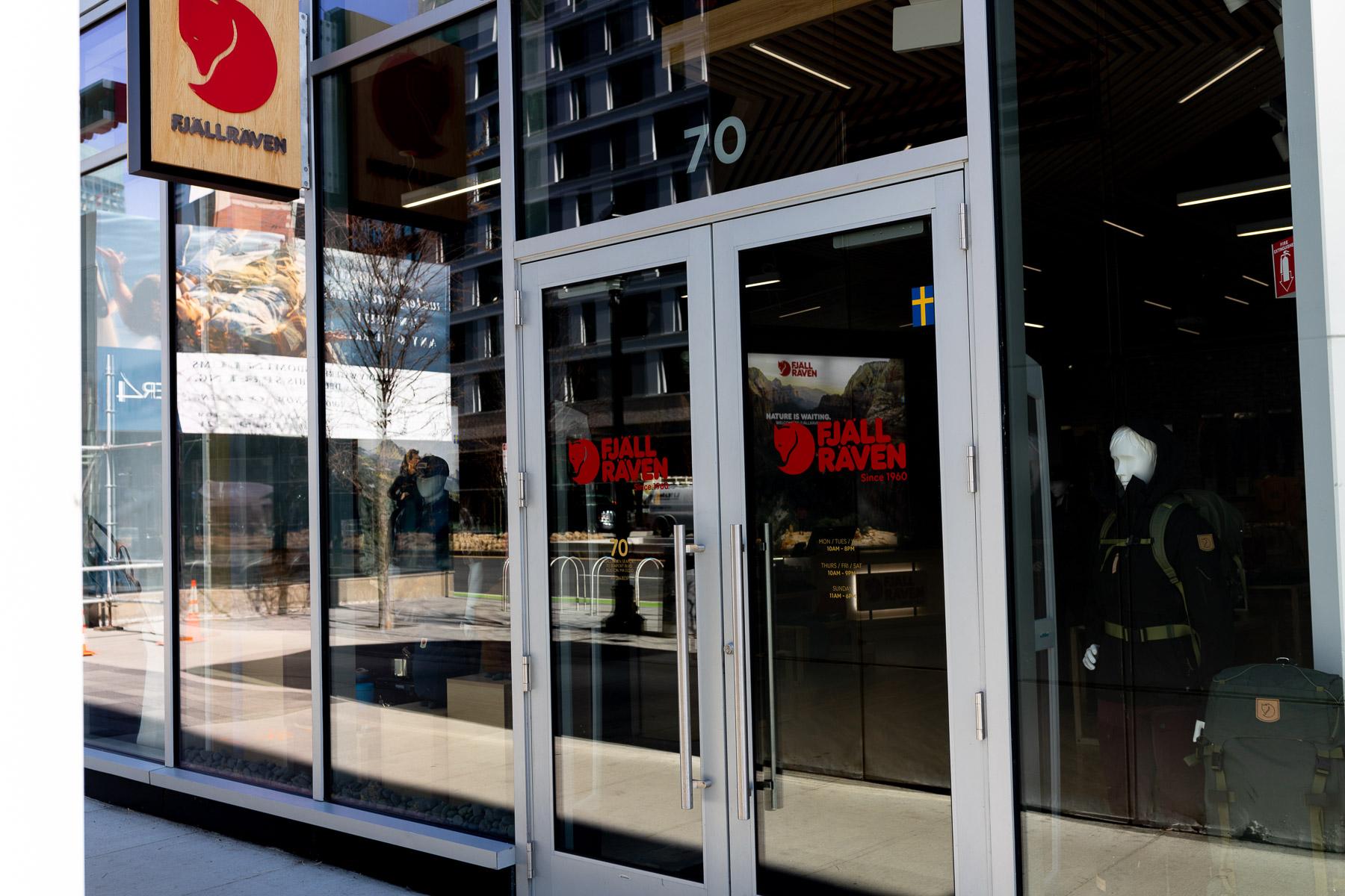 Fjallraven retailer in Boston, Massachusetts Store pic 2