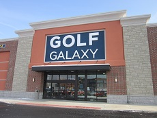 Golf Galaxy storefront. Your local sporting goods supply store in Columbus, OH | 3118