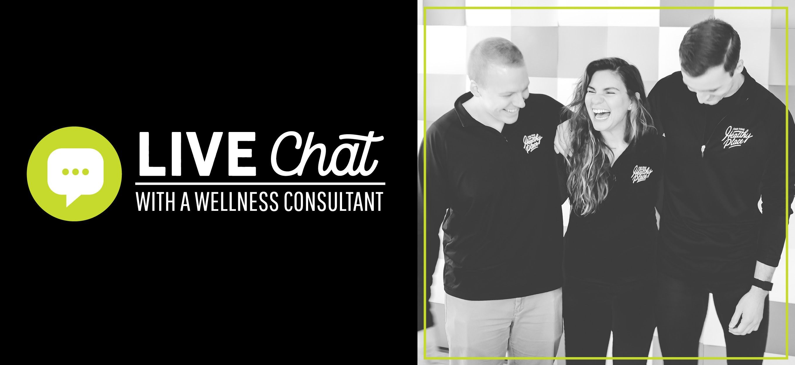 Live Chat with a wellness consultant