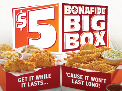 $5 bonafide Big Box