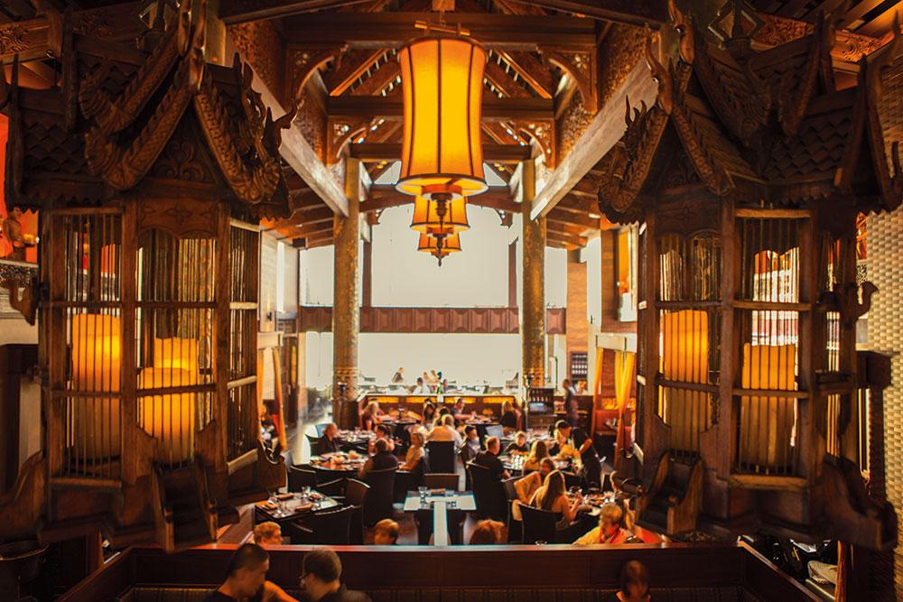 Rocksugar Southeast Asian Kitchen restaurant interior