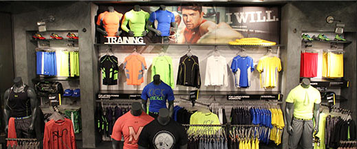 Ordinaire UNDER ARMOUR® RETAIL STORES