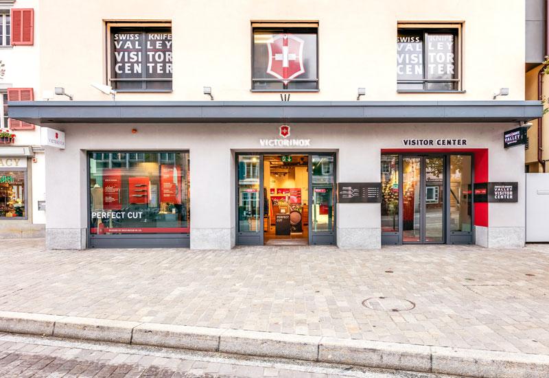 Store interior of Victorinox Store Brunnen, Brunnen