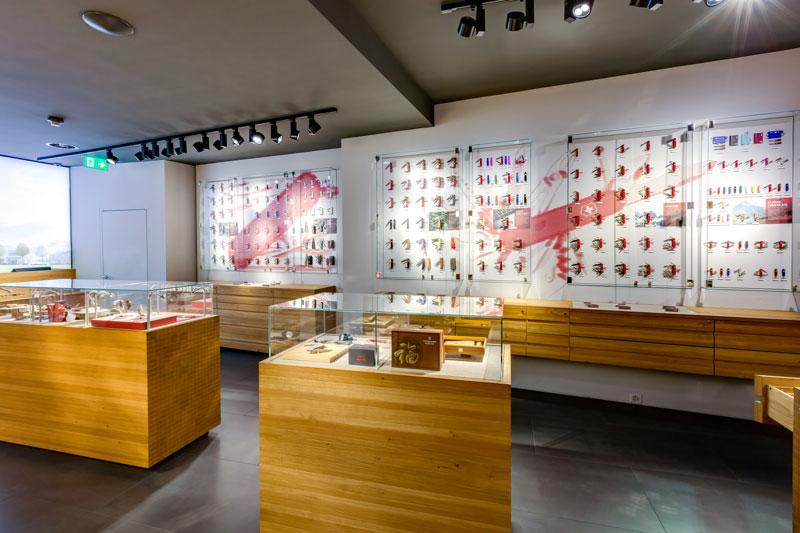 Store interior of Victorinox Store Luzern, Luzern