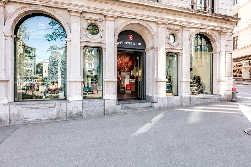 Store interior of Victorinox Flagship Store Zürich, Zürich